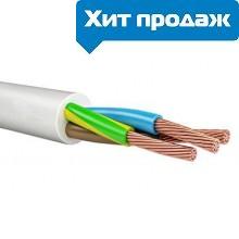 Медный кабель (провод) ПВС 3x4