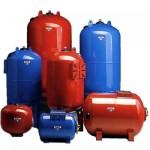 Гідроакумулятори, мембранні баки, накопичувальні баки води