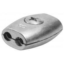Зажим для троса (каната) d2 мм обжимной