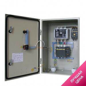 Каскад-К 60-120А станция защиты и автоматическое управление насосом, электродвигателем, электроприводом + комплект датчиков уровня в ПОДАРОК!