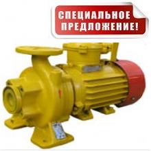 КМ 50-32-125Е насос бензиновый для прекачки светлых нефтепродуктов