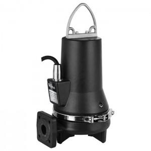 Sprut CUT 4-10-38 ТА погружной трехфазный фекальный насос с поплавком и измельчающим механизмом
