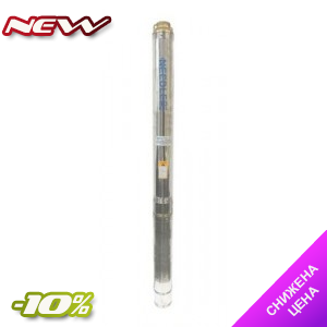 Погружной глубинный трехфазный насос Needle 125NDL 30/12 подача 25 м3/час Ø122 мм для артезианских скважин диаметром 130 мм, 150 мм,