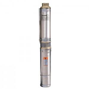 Центробежный погружной скважинный насос Насосы+ БЦП 1.8-50У диаметром 94 мм кабель стальной трос в комплекте