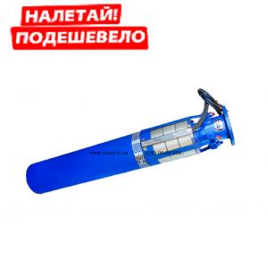 Погружной глубинный трехфазный насос ЭЦВ 10-63-110 нрк с нержавеющими рабочими колесами для артезианских скважин