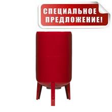 Гидроаккумулятор 100 литров WATES 100 (10 bar) вертикальный