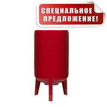 Гидроаккумулятор 80 литров DAN-WATES 80 (16 bar) вертикальный