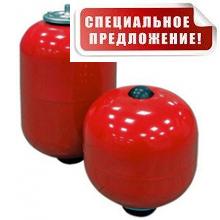 Гидроаккумулятор 12 литров DAN-WATES 12 (16 bar) без опоры