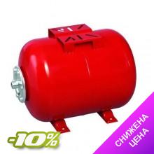 Гидроаккумулятор WENTA WE50 литров (10 bar) горизонтальный