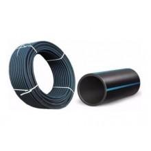 Труба полиэтиленовая для безнапорной канализации и технического водоправода ПЭ 80 Ду 90 мм 0.3 МПа SDR41 90х8.2